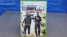Conflict Denied Ops (Microsoft Xbox 360, 2008) - DISC ONLY