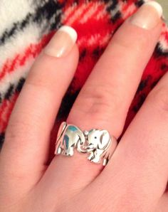 Elephant ring :) I have this but it turns my finger green