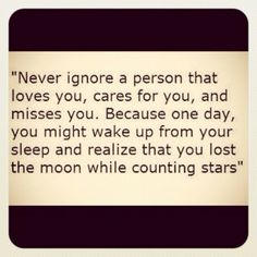 And one day hopefully I will find someone that's not just counting stars...