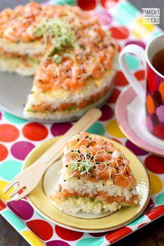 #sushi #cake