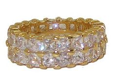 Stunning Eternity Ring - Gold