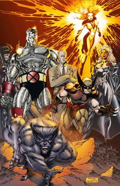 X-Men by Jim Lee