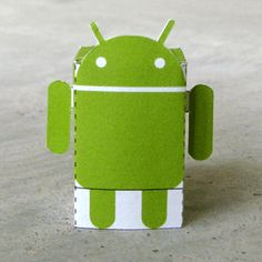 Paper Android; download, print, & make.