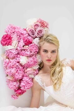 The dreamiest pink wedding inspiration, styled by Marina Licht of Style & the Bride, the UK's most stylish wedding blog, http://www.styleandthebride.co.uk/pretty-in-pink-wedding-inspiration/. Photograph by Diana Patient. Flowers by In Deco Flowers. Dress by Naomi Neoh. Make up by Jules Cardozo-Marsh