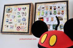 DIY Disney Pin Display Ideas - Tutorial that uses canvas instead of cork