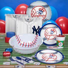 New York Yankees Baseball Party Supplies, 77724
