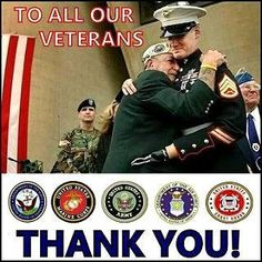Veterans Day thank you to all who defend our country.  To parents teach your children about veterans day, and why it is so important.