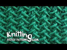 Herringbone stitch   Step-by-step Tutorial - YouTube