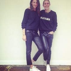 Géraldine Saglio and Isabel Marant