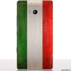 Coque nokia 930 europe - Drapeau iTalie Vintage - Acheter 9,95€ . #coque #nokia #lumia #930 #italie #drapeau