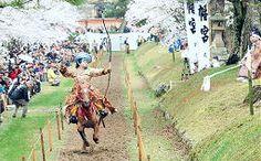 山陰中央新報 - 的狙い疾走 津和野町で流鏑馬神事 Yabusame@Washibara shrine #Tsuwano, Japan
