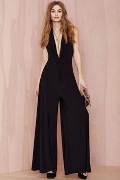 Nasty Gal Knot Gonna Take It Knit Jumpsuit | Shop Clothes at Nasty Gal