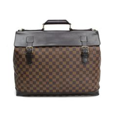 Louis Vuitton West-End PM Damier Ebene Handle bags Brown Canvas N41130