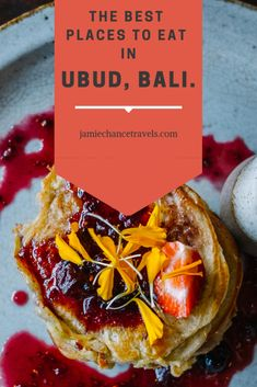 Not only a cultural hub, Ubud has a thriving foodie scene. Here I bring together the best places to eat in Ubud that you absolutely have to visit! Best Places In Bali, Best Places To Eat, Bali Travel Guide, Asia Travel, Travel Tips, Smashed Avocado On Toast, Healthy Cafe, Bali Baby, Western Food