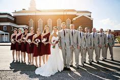 Wedding party photo idea {Michael Kaal Photography}