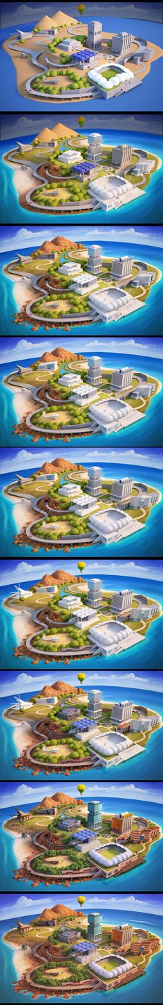 AusLife_ 3D Process by *jermilex on deviantART
