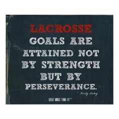 #Lacrosse Poster for Perseverance! > Thanks and Enjoy!