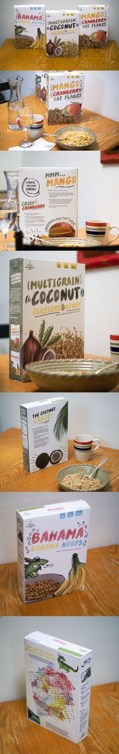 Cereal Packaging Design Project // Grainwood Farms // emilygraphicdesigner
