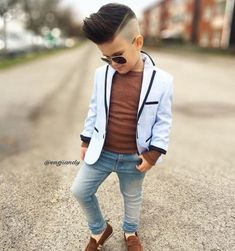 Best 21 little boy haircuts - new hairstyle for boys Toddler Boy Fashion, Little Boy Fashion, Toddler Boy Outfits, Girl Fashion, Fashion Kids, Fashion Men, Trendy Fashion, Baby Boy Swag, Baby Boys