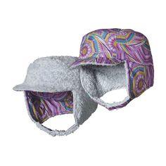 BABY REVERSIBLE SHELL HAT, Winter Weave: Light Acai (WWVA)