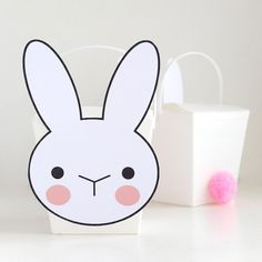 Make Cute Easter Bunny Takeout Boxes