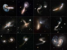 Galactic cannibalism. A fate we will share with our neighboring galaxy Andromeda at some point in time.