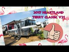 You can now order this SUPER COOL 2017 Heartland Terry Classic Travel Trailer. It's officially in production and the first trailers should be rolling ont. Small Travel Trailers, Heartland, Rv, Retro, Classic, Motorhome, Small Camper Trailers, Classical Music, Truck Camper