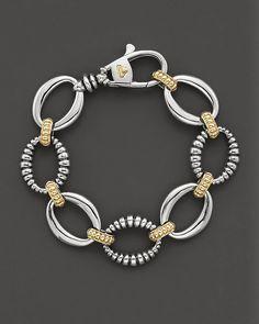 Lagos Sterling Silver Link Bracelet