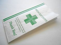 200 Paper Prescription Pharmacy Bags - Designed for Dispensaries 10x5x2 by #NooYouProducts