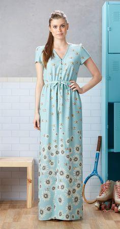 Só na Antix Store você encontra Vestido Longo Vela de Papel com exclusividade na internet