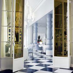 La Terraza del Casino by Jaime Hayon Royal Caribbean, Wallpaper Magazine, Contemporary Interior Design, Commercial Interiors, Interior Architecture, Design Inspiration, Spain, House Design, Studio