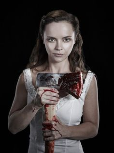 """Tracey Mattingly - News - Christina Ricci for """"Lizzie Borden Took An Ax"""" Campaign"""