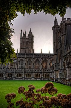 Cloister, Magdalen College by sdhaddow, via Flickr