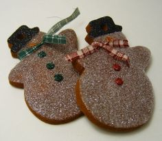 Christmas Gingerbread Ornaments