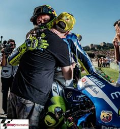 """""""Rossi: """"It was unbelievable""""  Valentino Rossi makes an incredible charge through the field for fourth in the Valencia GP.  Valentino Rossi:""""We build this…"""""""