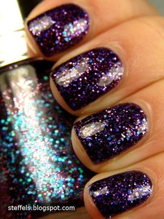Tony Moly Galaxy GT Collection <3 Love the color but I think getting too old for glitter nail polish.