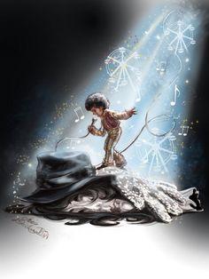Michael Jackson always alive by Cris de Lara #art #music