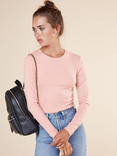 The Shane Top  https://www.thereformation.com/products/shane-top-blush?utm_source=pinterest&utm_medium=organic&utm_campaign=PinterestOwnedPins