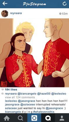"rattersarts: "" PJO Instagram posts 3/? - Reyna. Goes with the Dance Academy!AU. """