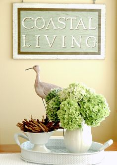 Coastal Living by Sherrie St. Hilaire is in and out, via Flickr