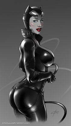 Catwoman - speeddrawing by Aioras.deviantart.com on @DeviantArt