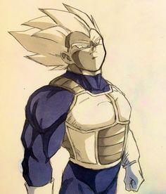 (4) Twitter Dragon Ball Z, Dragon Z, Dbz Vegeta, Ball Drawing, Dbz Characters, Z Arts, Anime Comics, Fan Art, Sketches