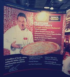 Chef Anthony is starting the day bright and early at the International Franchise Expo representing Russo's New York Pizzeria and Russo's Coal-Fired Italian Kitchen. LIVE FROM NEW YORK.