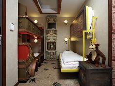 Bei diesen Themenzimmern werden Kinder die Schlafenszeit kaum erwarten können Familienfreundliche Hotels, Legoland, Boy Room, Adventure Rooms, Bed, Denmark, Places, Room Ideas, Furniture