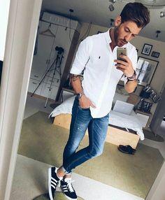 Look casual