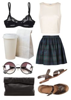 """""""Style Set #100"""" by thestylelab ❤ liked on Polyvore featuring Olympia Le-Tan, Timpa and Marie Turnor"""