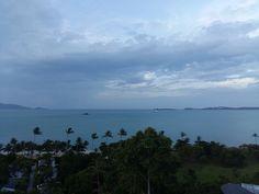The view from Maenam, Koh Samui looking towards the neighbouring Island, Koh Phangan  www.islandinfokohsamui.com