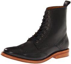 JD Fisk Men's Leeroy Ankle Boot, Black, Size 9 | Amazon