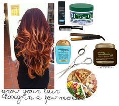 Grow your hair long in months!