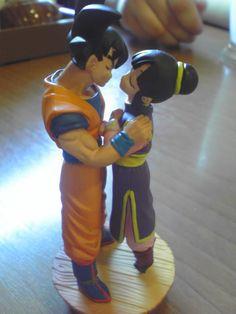 Goku and Chichi Wedding Topper
